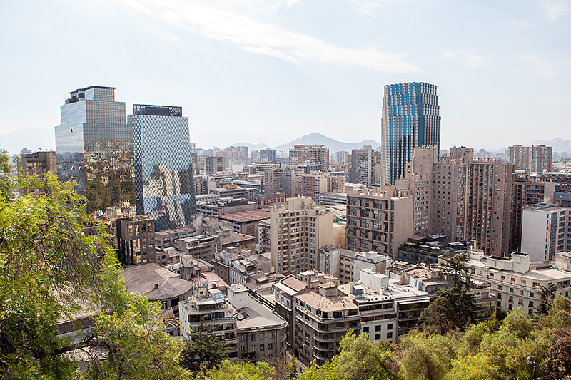 Santiago de Chile, Downtown